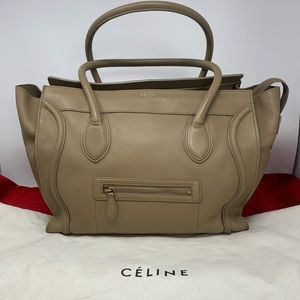 AUTHETIC CELINE LUGAGE TOTE BAG